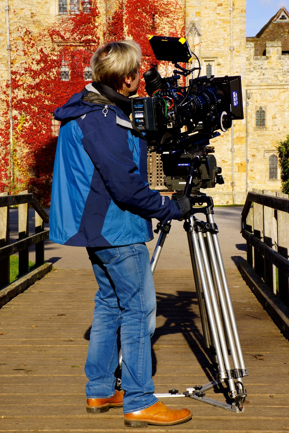 Shooting at Hever Castle, Kent