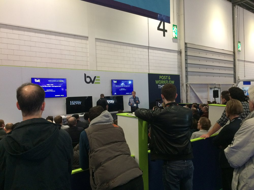 Televisual Creative at BVE2017