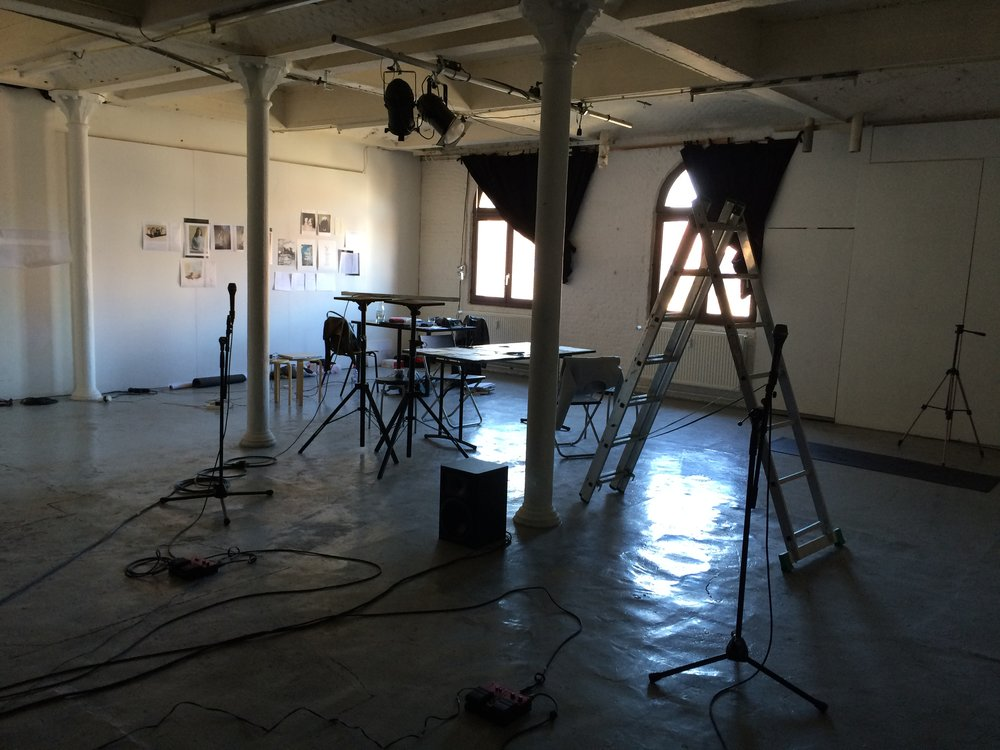DICKSON & CHALMERS RESIDENCY AT QO-2, BRUSSELS 2015
