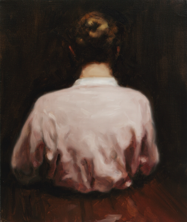 Michaël Borremans, The Giant, 2007