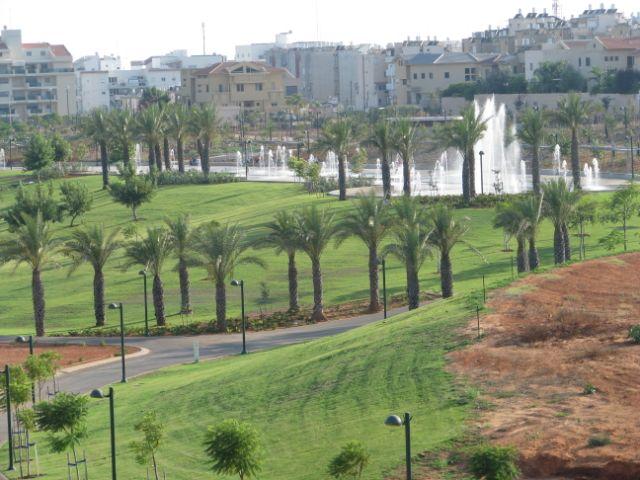 Vue depuis la terrasse du bâtiment de HaMaayan