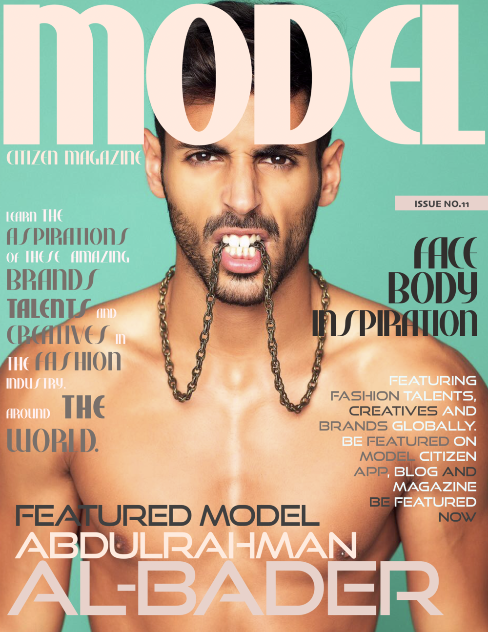 Abdulrahman Al-Bader, Model Citizen Magazine