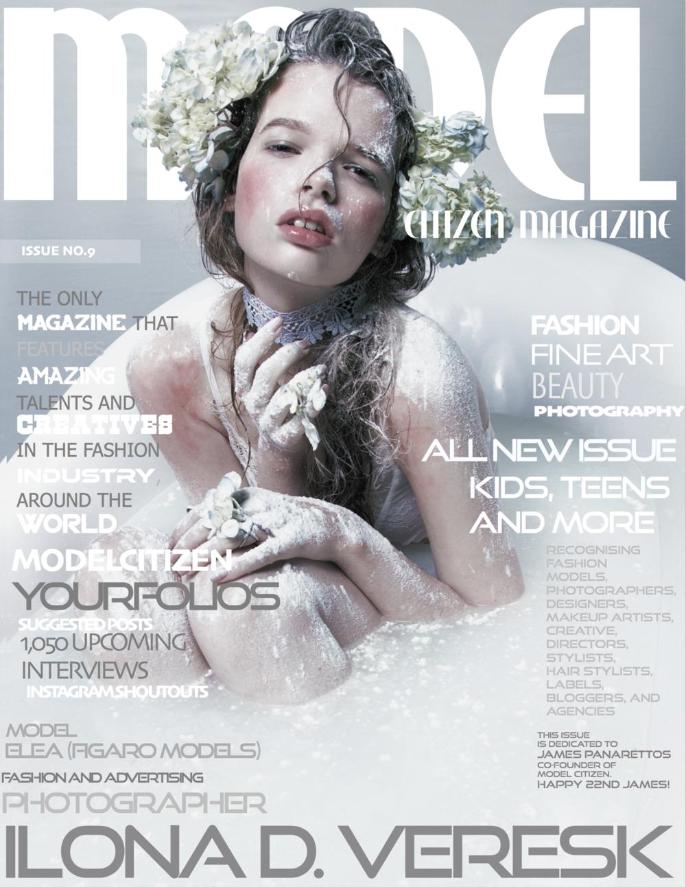 Ilona Veresk, Model Citizen Magazine