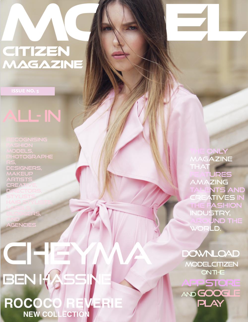 Cheyma Ben Hassine,Model Citizen Magazine