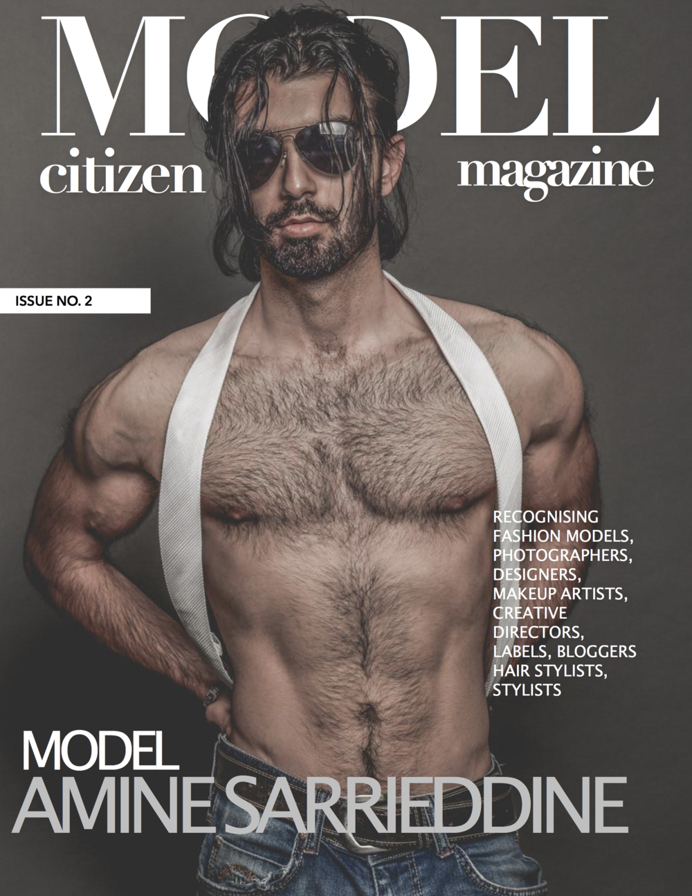 Amine Sarrieddine,Model Citizen Magazine