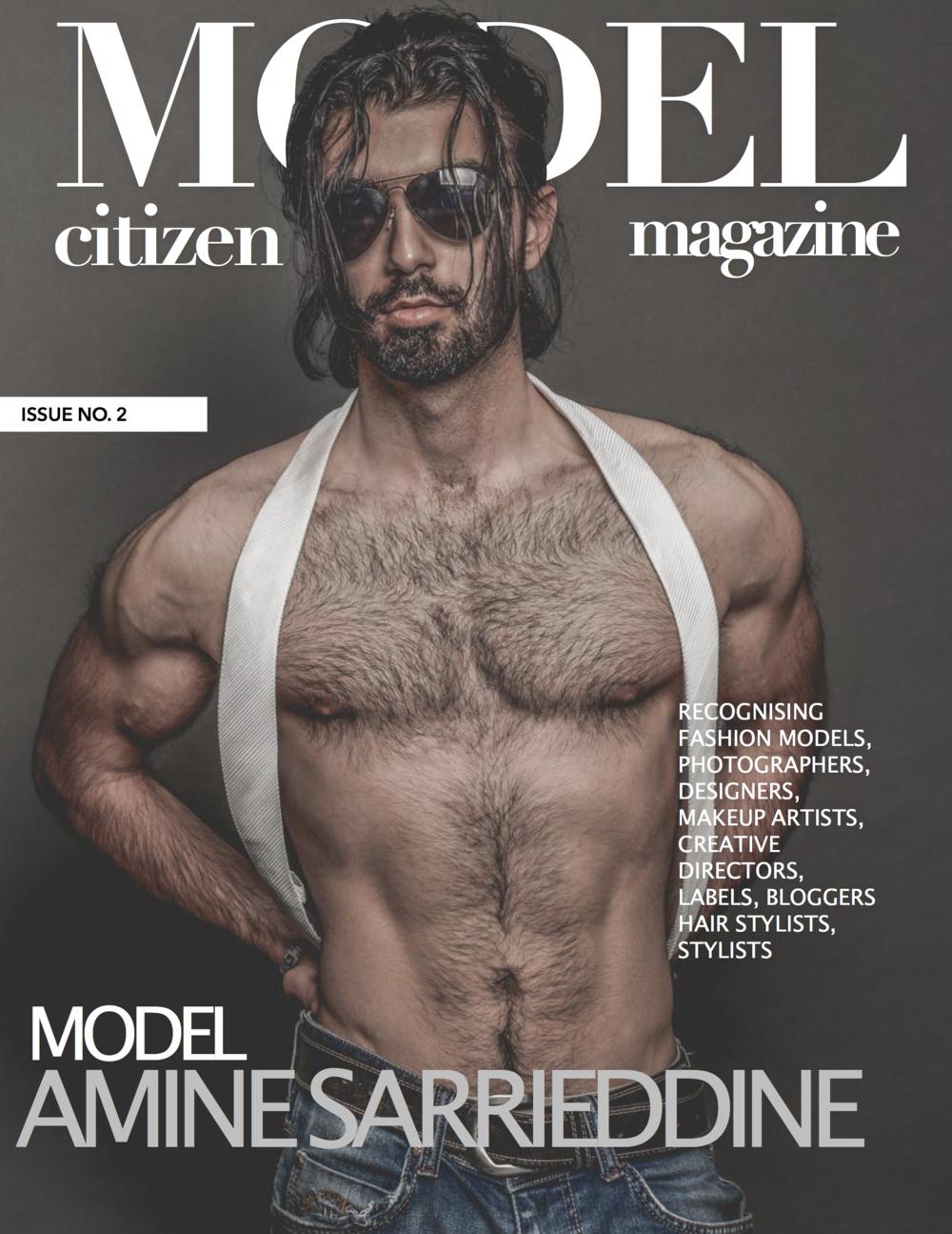 Amine Sarrieddine,Model Citizen Magazine