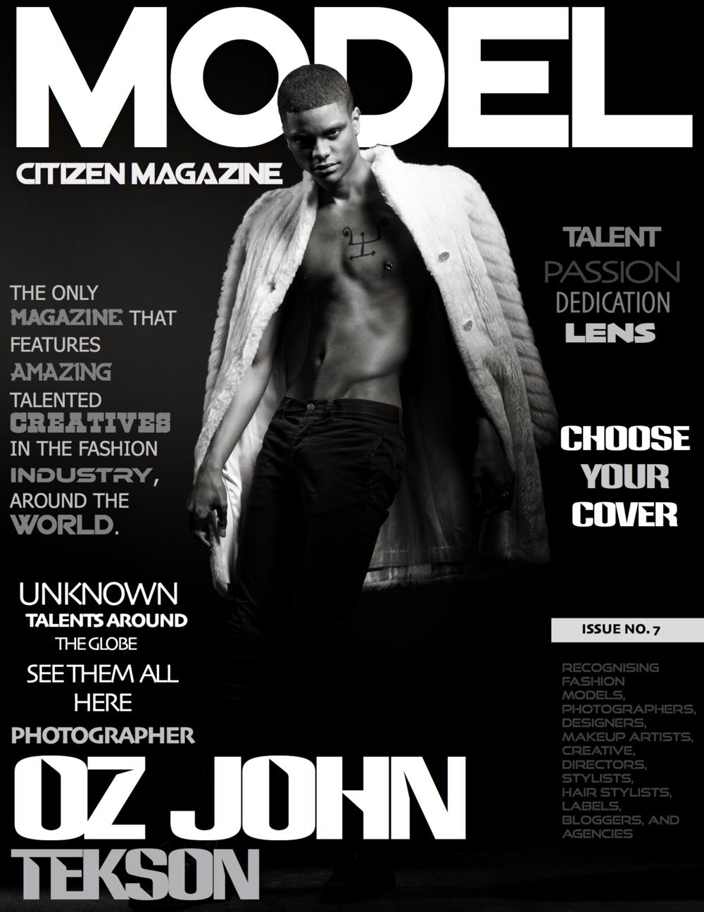 OZ John Tekson, Model Citizen Magazine