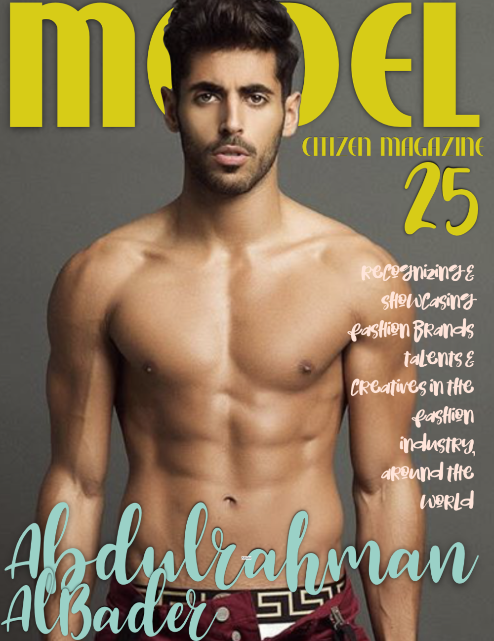 Abdulrahman AlBader, Model Citizen Magazine, Best Male Model 2018, Male Model to Watch, Kuwait Male Model, Kuwait Man, Arab Man Model, Most Handsome Arab Man