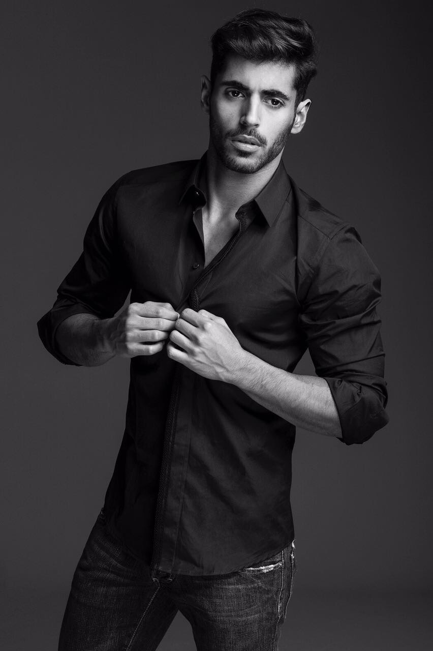 Abdulrahman AlBader, Model Citizen Magazine, Best Male Model 2018, Male Model to Watch, Kuwait Male Model, Kuwait Man, Arab Man Model, Most Handsome Arab Man