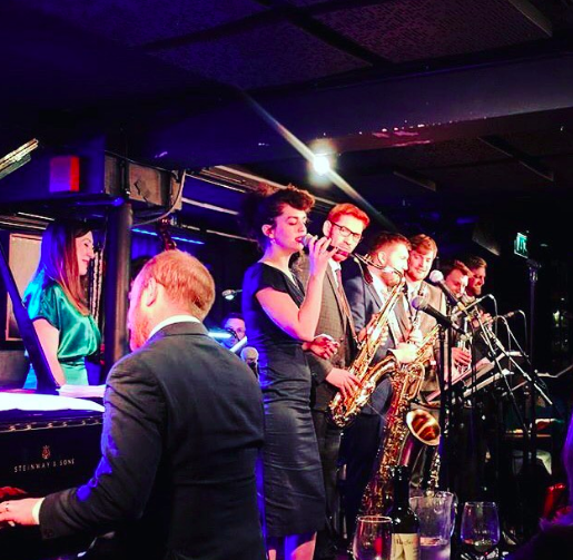 Down For The Count had a sold out performance at Pizza Express Jazz Club and it was honestly a dream come true.