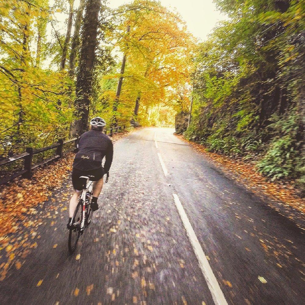 Autumnal Cycling Devon
