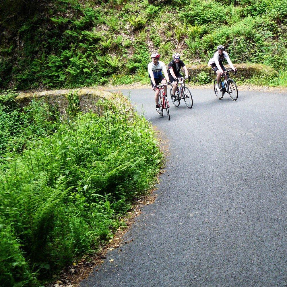 Cycling the Porlock Toll Road