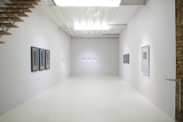 L) Free Frame, Son Gallery Installation View, Son Gallery, London, 2012