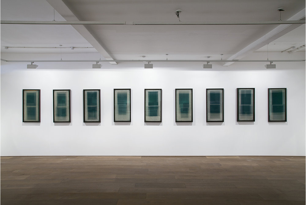 H) Forms in Green, Hackney Installation View, Uncommon Ground, Flowers Gallery, London, 2012