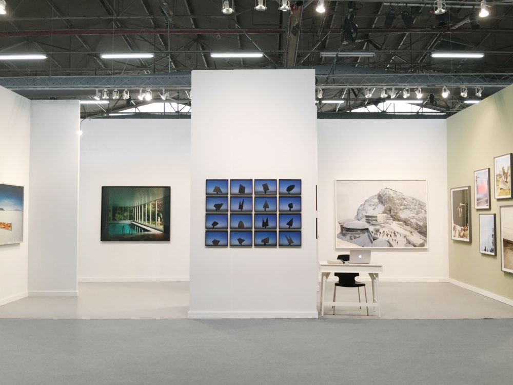 AIPAD Art Fair, 2017. Flowers Gallery Installation. New York