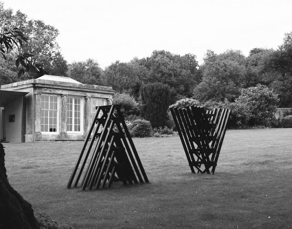 Brace, Brace   Ash sculpture New Art Centre, Roche Court, Salisbury, 2015