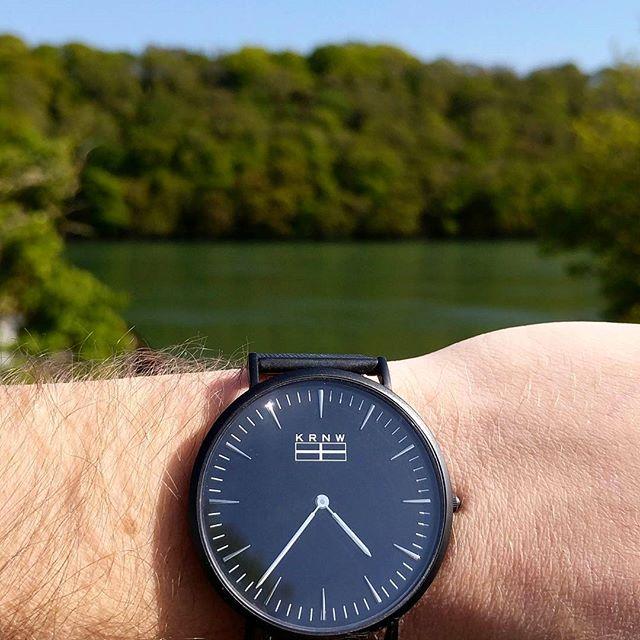 Enjoying the sun along the Malpas Estuary today #cornwall #kernow #truro #watches #watchesofinstagram #watchoftheday
