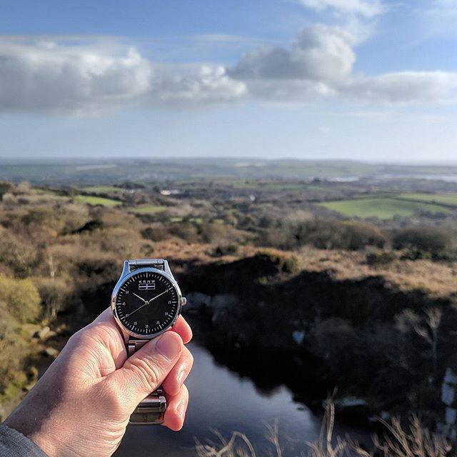 Blue sky in December?  #cornwall #kernow #watchesofinstagram #watches #watchoftheday #kernowfornia #kernowstyle