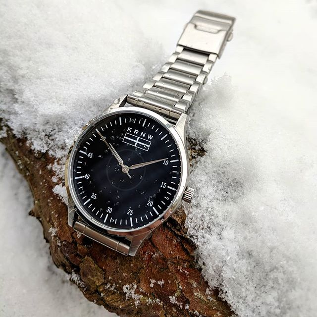 The Eyla enjoying the -3 conditions here in Cornwall.  #kernow #cornwall #watchesofinstagram #watch #watchoftheday #timepiece #snow