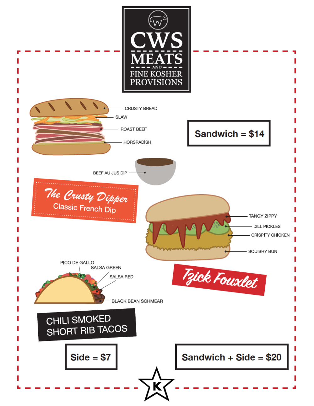 CWS menu 2/21