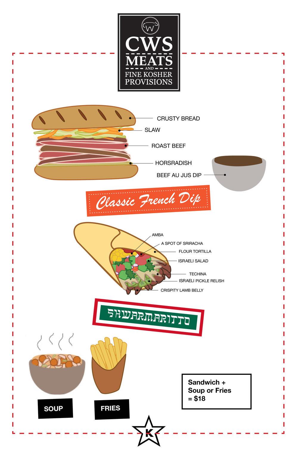 CWS menu 1/31