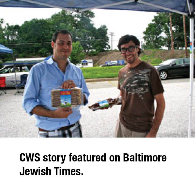 Baltimore Jewish Times Feature