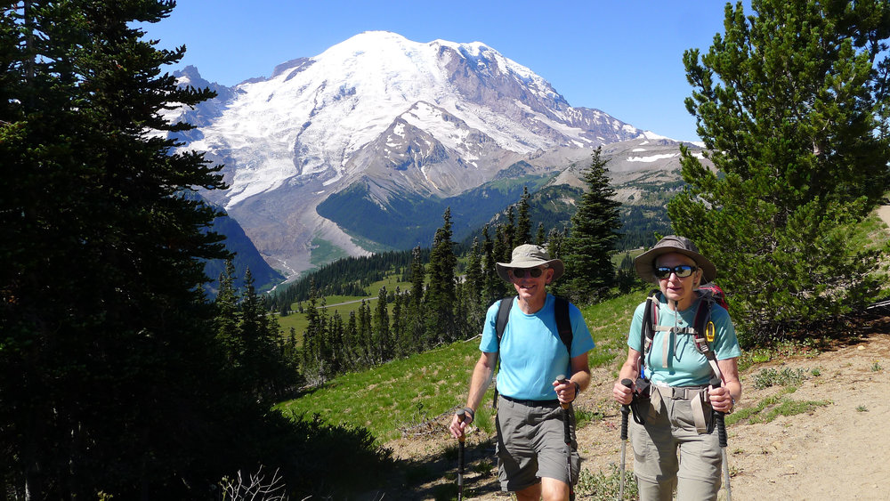 A Day Hike On Mt. Rainier (Washington)