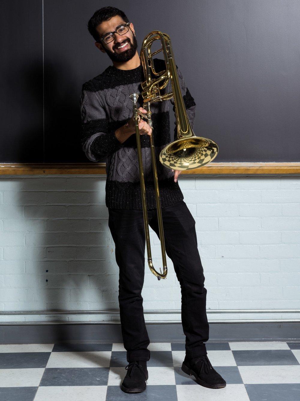 Apurv Bharadwaj - Bass Trombone