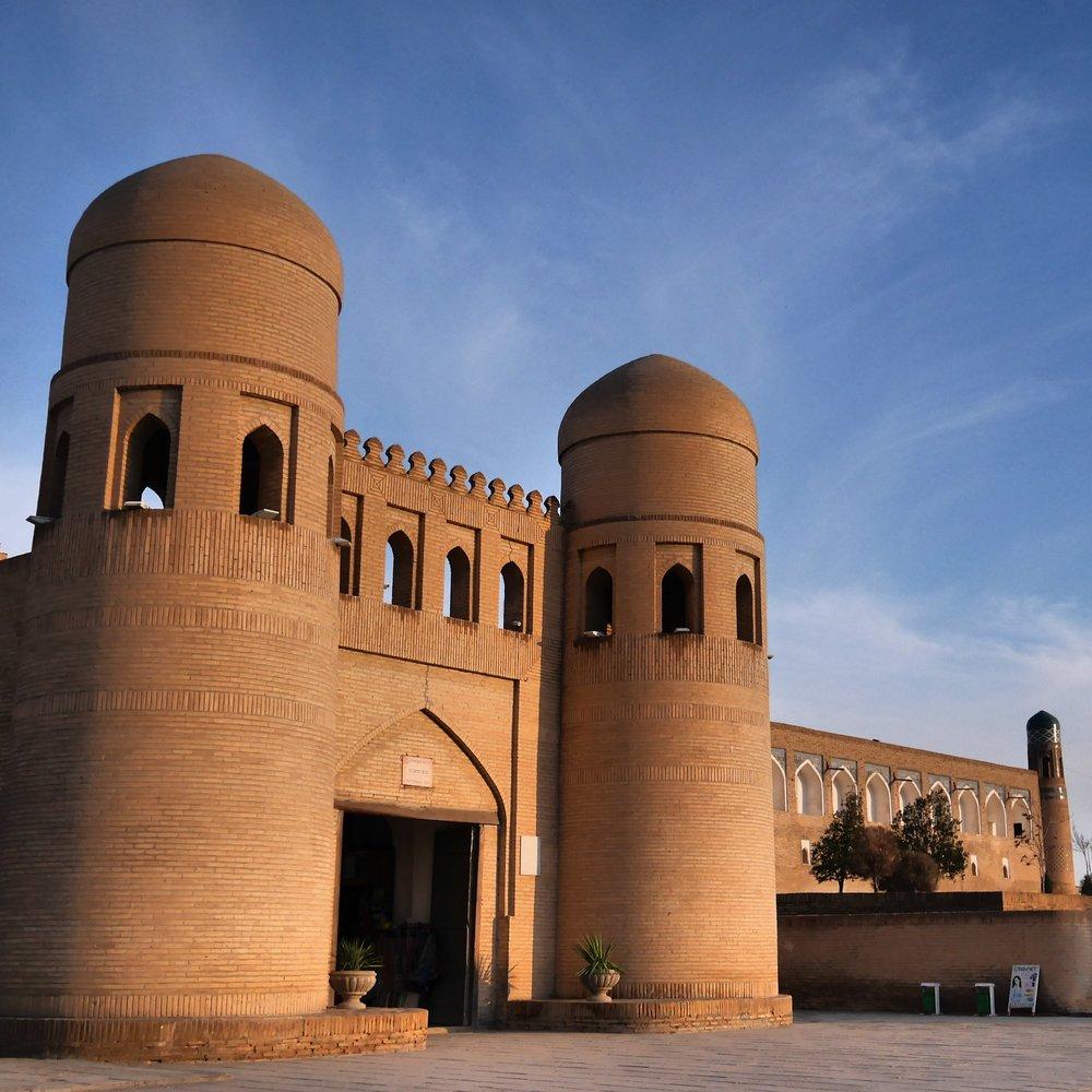 Khiva citadel.