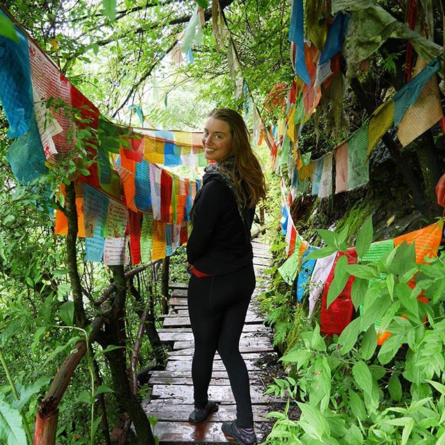 Discovering hidden Buddhist hermitages in the mountains outside Kangding. Check out Manon's blog on cycling in Tibet (link in bio) at https://www.cyclingthesilk.com/blog/2017/6/27/a-taste-of-tibet . . . . . . . . #tibet #tibetanplateau #bicycletouring #neverstopexploring #getoutside #worldbybike