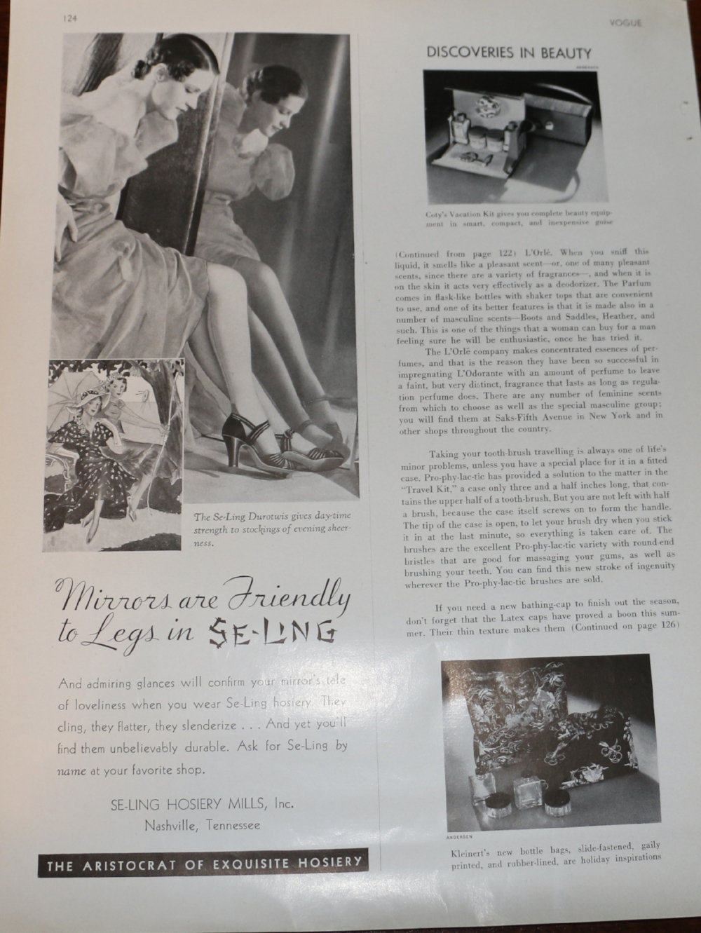 The Factory Marketplace as a hosiery factory