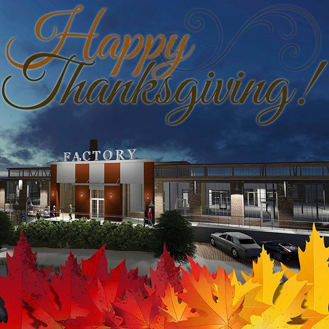 Happy #thanksgiving from all of us at @thefactorymp to all of you! #nashville #food