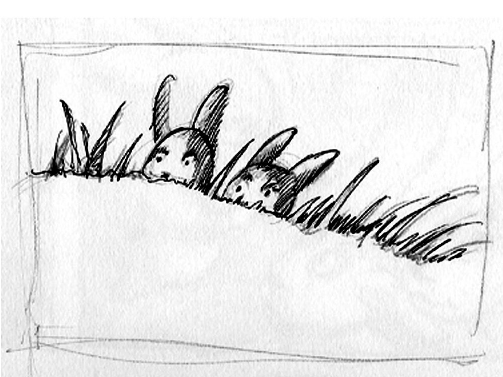 peeking coney pen & ink.jpg