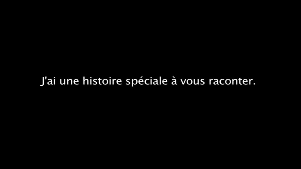 Extrait tiré de la vidéo : Les événements (textes), Geneviève Marois-Lefebvre, 2016