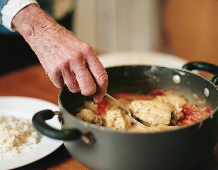 Tigger - African Peanut Chicken Stew
