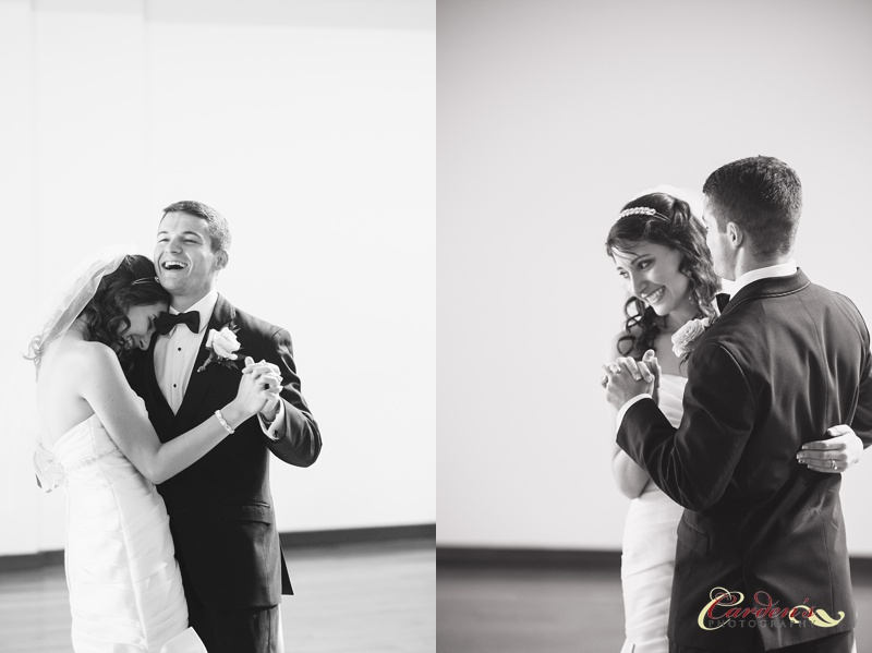 Such a sweet first dance and yes I was loving the natural light coming in from the ceiling!