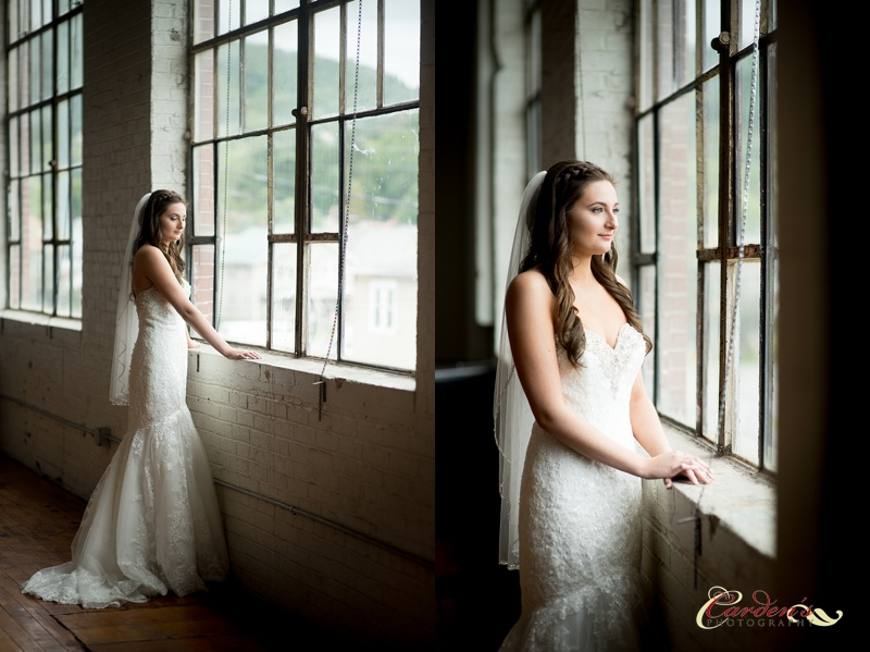 Beautiful bride in a beautiful light!