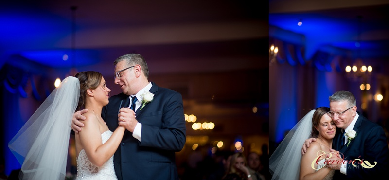 The father daughter dance was so special.  We played with the lights in the background to add some depth to each image.