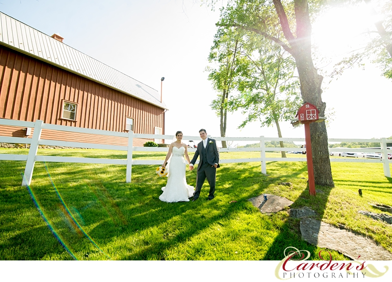 Friedman Farms Wedding Photographer Bride Groom