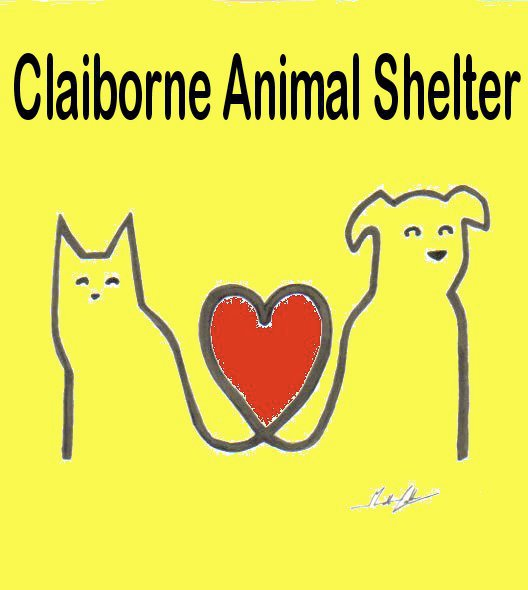 Claborne Animal Shelter 674 Ritchie Lewis Dr., New Tazewell, TN 37825 P: 423-626-2686  www.claiborneanimalshelter.com    We take in more than 300 animals per month. In a county with only 11,00+ households, that's a lot!  To save as many lives as possible, we work with several groups who drive our dogs and some cats hundreds of miles up north to no-kill shelters, where they adopted into loving homes. The cost to us is $30 per dog, $20 per cat. Please consider a monthly donation to help us cover this cost.   Nonporfit MEMBER of Cumberland Gap Region Tourism Association