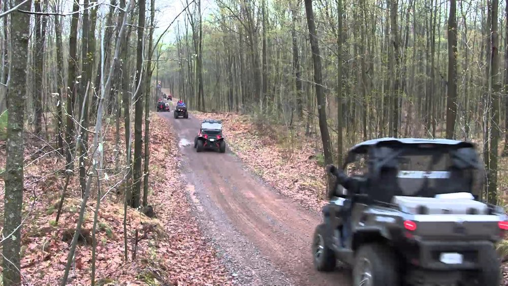 Big Creek Fall ATV Festival   LaFollette, TN  October  There will be plenty of ATV/UTV excitement with over 600 miles of trails, and with a little help from the weather, plenty of mud. Best of all you will be able to ride right out of Downtown LaFollette into the mountains and then back again to continue the festivities without ever leaving your ATV. Maps will be provided for anyone who wishes to take off on a ride themselves, or for the less adventurous, organized rides will be leaving from town. (See ride information below) These rides will range from an easy 2 - 2 1/2 hour 20 miles trip to a challenging 5 - 5 1/2 hour 40 mile trip. Wildlife lovers be sure to ask about the famous Elk Viewing Tower ride.