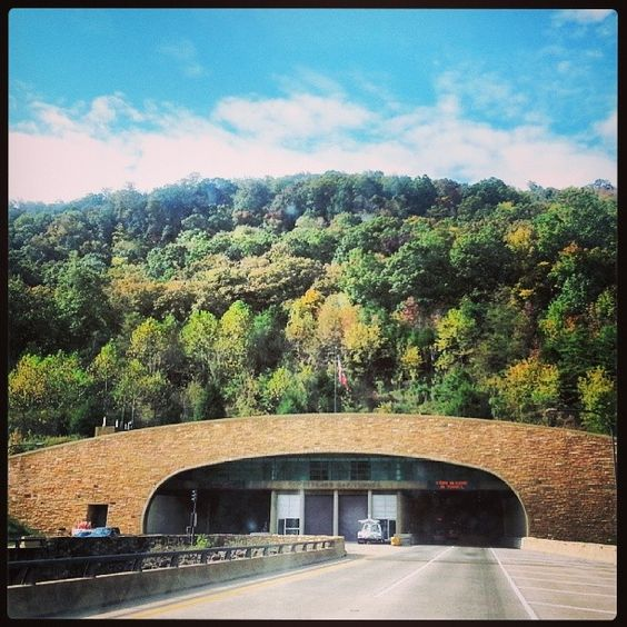 The Cumberland Gap Tunnel opened to highway traffic on October 18, 1996. The tunnels are located in the Cumberland Mountains of the Appalachian Range, where the states of Kentucky, Tennessee and Virginia converge.