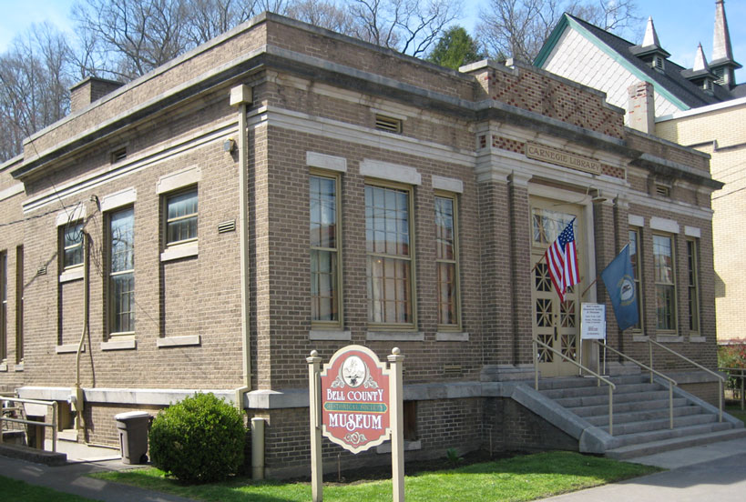 Located in the heart of Historic Middlesborough, the museum is housed in Carnegie Library building dating back to 1912.  It is within easy walking distance of other historical sites including the Coal House and Coal Museum, the Arthur Museum with its Victorian Garden, the Canal Walk and the Centennial Park.   Nonprofit MEMBER. 207 N. 20th St Middlesboro, KY 40965 606-242-0005  bellcountyhistorical.com