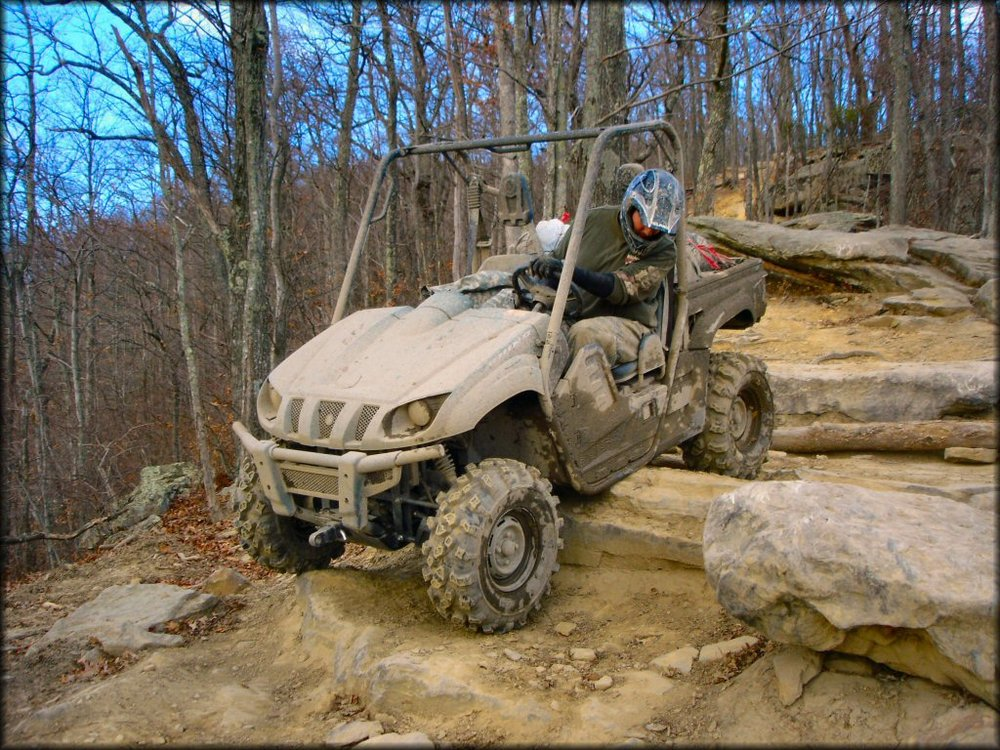 Black Mountain Off-Road Adventure Area Harlan County, Kentucky NON Member