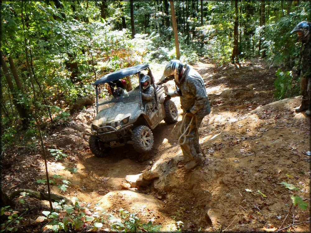 Ride Royal Blue ATV Resort Campbell County, Tennessee NON Member