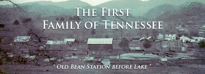 "Bean Station  ""In the spring of 1775, two men stood looking down from the top of Clinch Mountain in Eastern Tennessee into ""one of the most beatiful spots in the world, a pictureque little valley with myriad of intervening hills appearing like broken waves on a vast ocean of green.  It was a scene that would long remain in the minds of Daniel Boone and William Bean who were on a pioneering journey. Bean was looking for a place to settle, to bring his family and eastablish a home."" For the full story, click on the ""learn more"" tab below."
