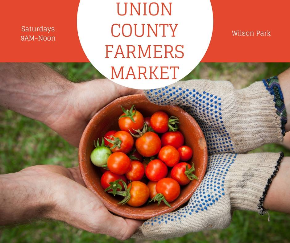 The farmers market is a great place to connect with your community. Stop by Saturdays from 9AM-Noon and get to know your farmer and neighbor.