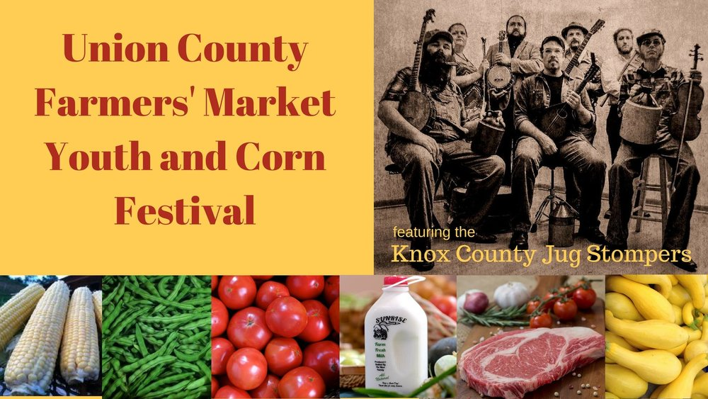Union County Farmers Market   115 Wilson Lane, Maynardville, Tennessee 37807