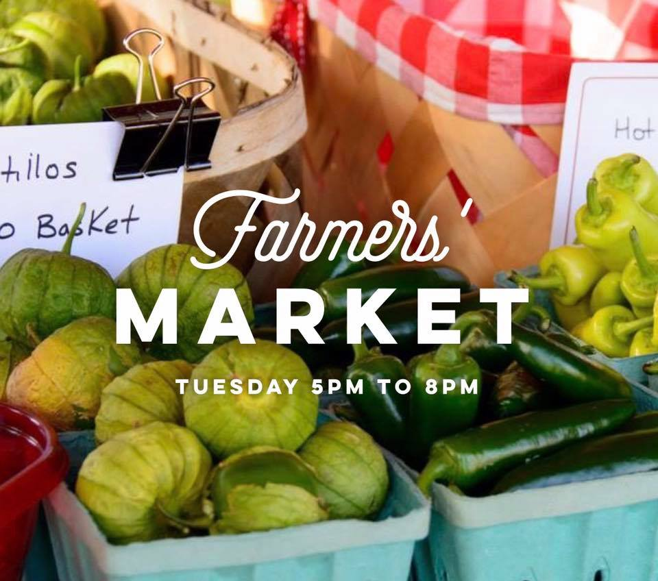 Schools back in and we know life is hectic but we want to invite you to the Whitley County Farmers' Market in Downtown Corbin this Tuesday from 5pm to 8pm in Nibroc Park. Our musical guests will be Jordan Allen. Drop by and check out the local produce, meats, cheese, honey, jams, crafts and prepared food for sale. Don't forget, by supporting the market you are also helping to support our local farmers and their families!