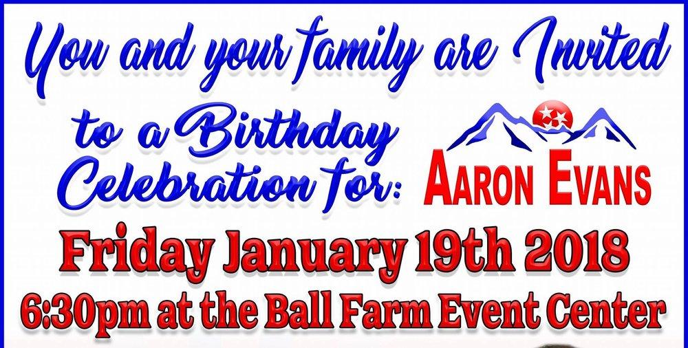 Ball Farm Event Center  2107 General Carl W Stiner Hwy, La Follette, Tennessee 37766